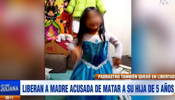 La necropsia determinó que la menor falleció a consecuencia de un golpe en la cabeza con un objeto contundente. (ATV)