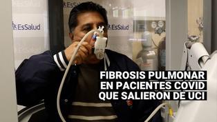 EsSalud: Pacientes COVID-19 que salieron de UCI podrían presentar fibrosis pulmonar