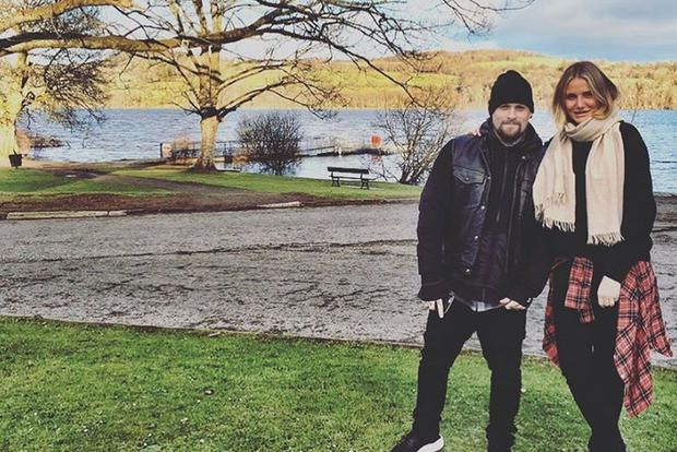Cameron Diaz and Benji Madden maintained a discreet relationship (Photo: Instagram)