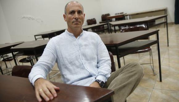 Vicente Manzano es activista de los movimientos Levantemos el Puerto y Podemos. (USI)
