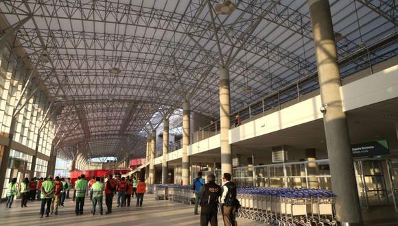 El jueves 12 se celebrará un foro para la reactivación del aeropuerto de Pisco. (Foto: Andina)