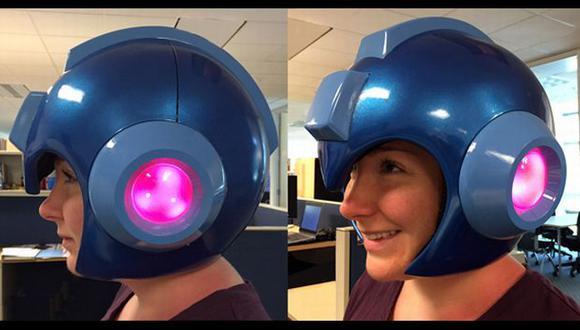 El casco se adapta cómodamente a la cabeza y su interior es acolchado, lo que permite un ajuste perfecto. (capcom-unity.com)
