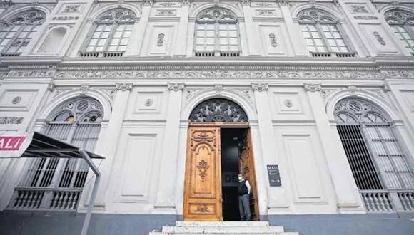 La entrada a la estación central se haría a pocos metros del histórico Museo de Arte de Lima. Autoridades del museo intentAn contactar a la ATU, pero no reciben información sobre megaobra. (Foto: Ángela Ponce / GEC)