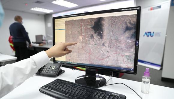 Unidades de transporte que accedieron al subsidio económico iniciaron la emisión de información de sus GPS al centro de control y monitoreo de la ATU. (Foto: MTC)