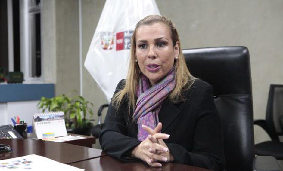 Fiorella Molinelli vuelve a ser motivo de controversia. (César Salhuana)