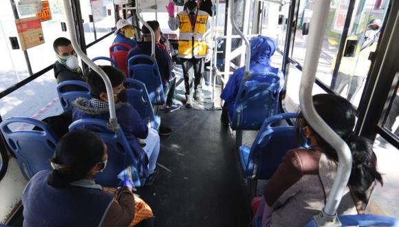 Cusco: pasaje de transporte urbano costará un sol y buses operarán con el 100% de asientos