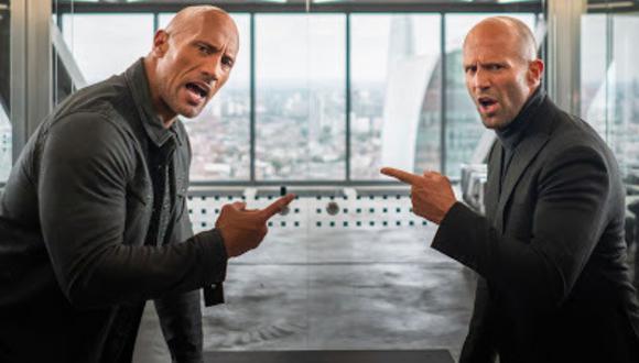"""""""Rápidos y Furiosos: Hobbs y Shaw"""" es una película de comedia de acción estadounidense de 2019 dirigida por David Leitch (Foto: Universal Pictures)"""