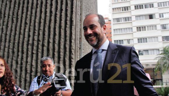 Carlos Kauffman, abogado de Jorge Barata, informó que su patrocinado declaró en español