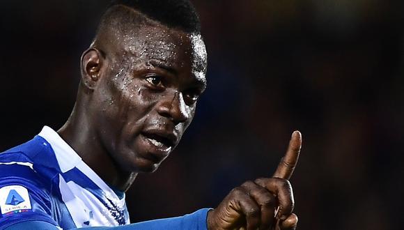 Balotelli, de 29 años, actualmente milita en el Brescia Calcio de la Serie A. (Foto: AFP)
