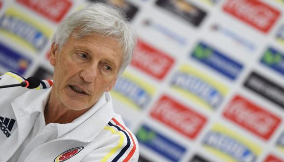 El contrato de José Pékerman había vencido el pasado 31 de agosto (Foto: AFP).