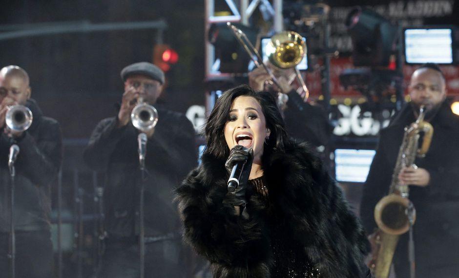 La cantante dijo sentirse muy afortunada de estar viva. (Foto: EFE)