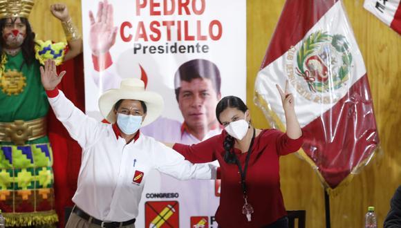 Excandidata presidencial firmó acuerdo con Perú Libre (César Bueno / GEC)