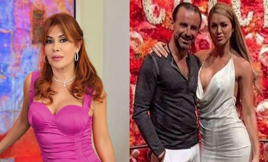 Magaly Medina cuestionó a Sheyla Rojas tras su rompimiento con Fidelio Cavalli. | Instagram