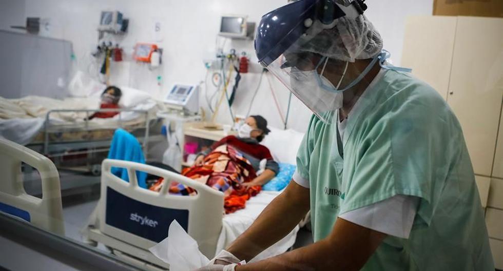 El ritmo de propagación de la pandemia sigue acelerándose, con un millón de nuevos casos reportados solo en seis días. (Foto: EFE/Juan Ignacio Roncoroni).