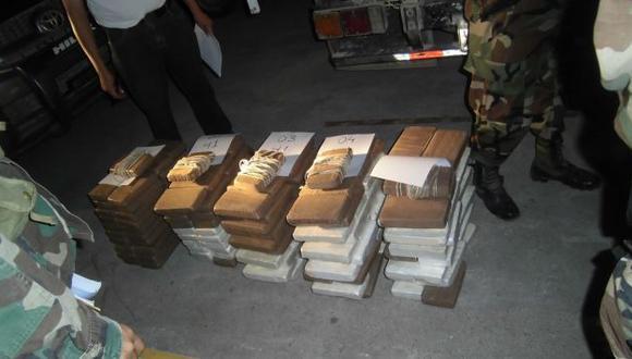 Policía incauta 442 kilos de droga en embarcación fluvial en Satipo. (Difusión)