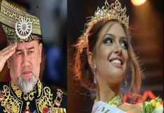 La historia de amor del rey de Malasia que renunció a su trono por casarse con reina de belleza