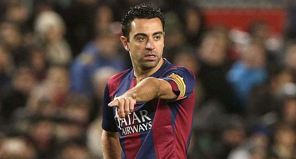Xavi Hernández quiere seguir el ejemplo de Guardiola y dirigir al Barcelona. (EFE)