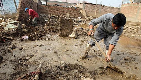 Los trabajos de limpieza en la zona continúan. (USI)