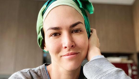 Anahí de Cárdenas fue internada luego de su segunda quimioterapia. (Foto: @anahidec)
