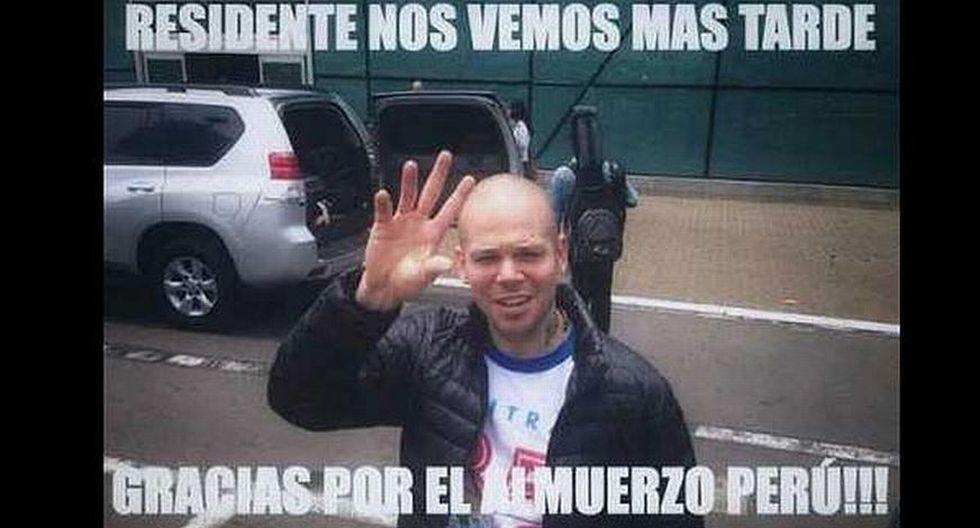 Residente no llegó a presentarse en Perú. (Memes del Perú)