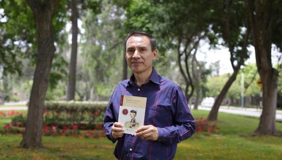 Conversamos con el escritor Selenco Vega. (Perú21/ Marco Ramón)