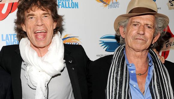 Ambos músicos comparten escenarios con la mítica banda The Rolling Stones. (Créditos: AP)