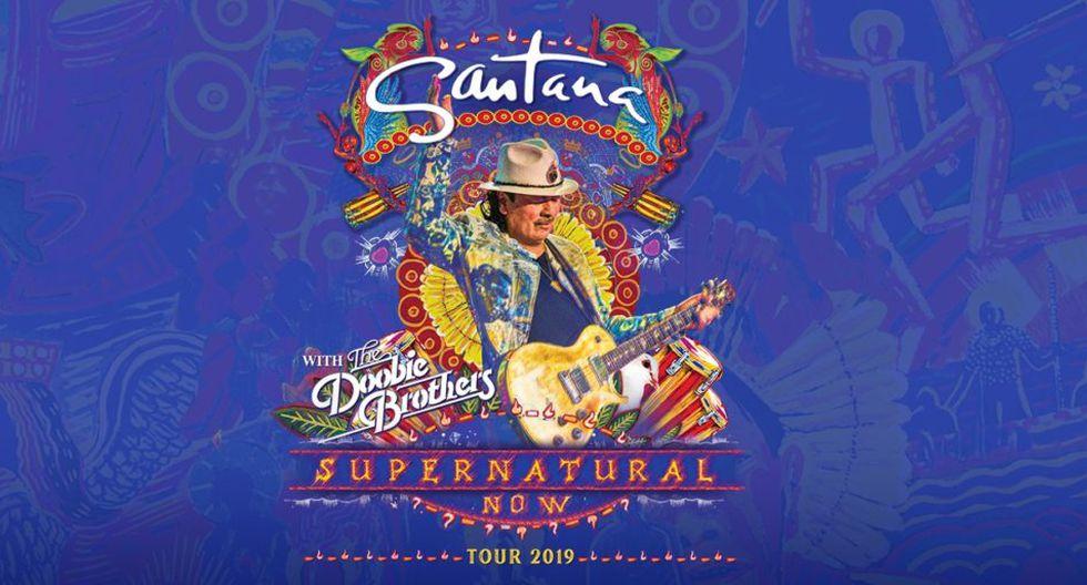 """Carlos Santana anuncia gira """"Sobrenatural"""" en Norteamérica (Foto: Difusión)"""