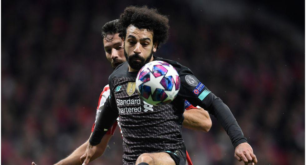Edad 27: Mohamed Salah juega en FC Liverpool y está valorizado en 162 millones de dólares (Foto AFP)