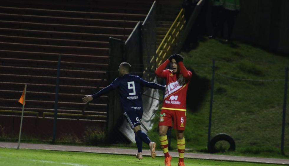 Sporting Cristal empató de visita 1-1 ante Sport Huancayo por el Torneo Clausura. (Giancarlo Ávila)