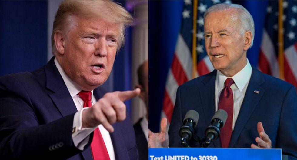 Luego del retiro de Bernie Sanders, Joe Biden es la carta del Partido Demócrata para enfrentar a Trump en las elecciones de noviembre. (GETTY)