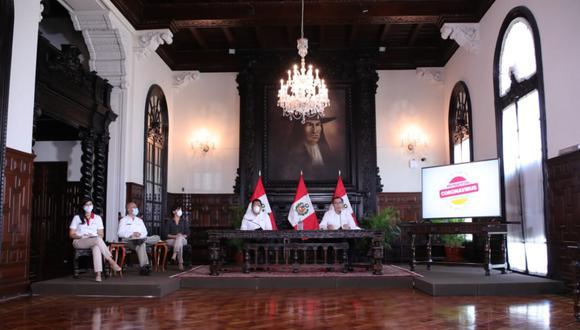 Sondeo de Datum evaluó al presidente y a ministros del gabinete Zeballos (Presidencia).