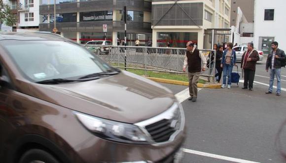San Isidro advierte que faltan hasta pasos peatonales en la Av. Arequipa. (Municipalidad de San Isidro)