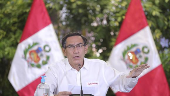 """Martín Vizcarra aseguró que su gobierno no brinda """"favorecimientos"""" por participación política. (Foto: Presidencia)."""