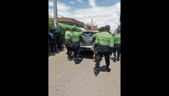 Puno: el representante del Ministerio Público autorizó el levantamiento del cadáver e inició las indagaciones del caso. (Foto: GEC)