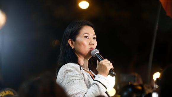 Keiko Fujimori es la candidata presidencial de Fuerza Popular. (Foto: GEC)