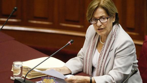 Susana Villarán ya ha declarado anteriormente ante la Fiscalía, pero por el caso de los aportes a la campaña del No. (USI)