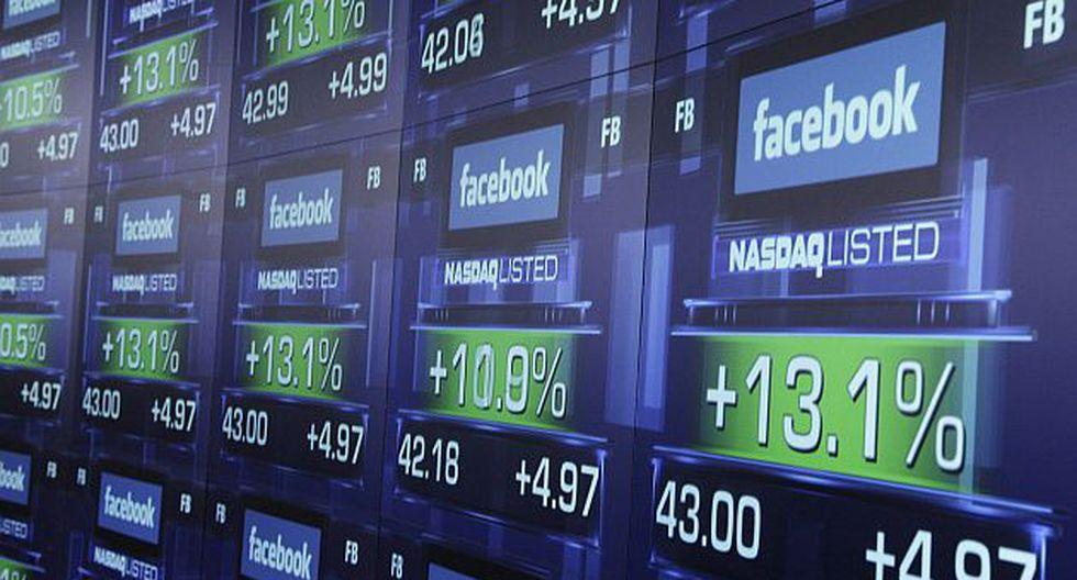 Facebook salió a la bolsa el 18 de mayo. (AP)