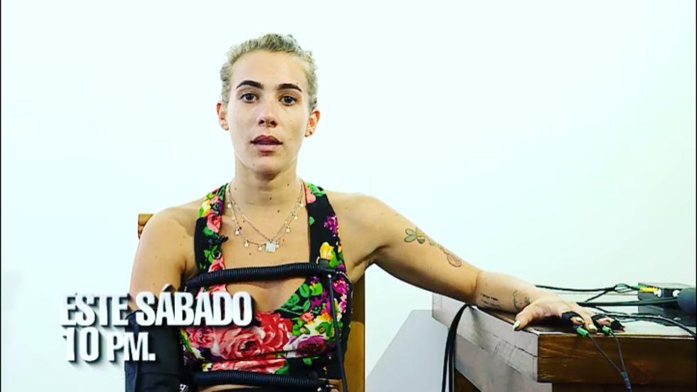 """""""El valor de la verdad"""": Poly Ávila es la segunda invitada al programa (Foto: Captura de pantalla)"""
