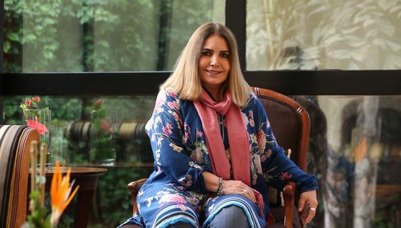 Conversamos con Tania Libertad, reconocida cantante peruana que se presentará hoy, en el Gran Teatro Nacional. (Perú21/ Manuel Melgar)