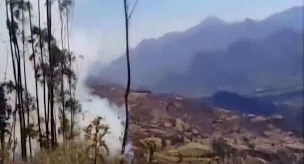 Los incendios forestales han afectado a varias regiones en las últimas semanas. (Foto: Captura/Canal N)