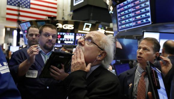 Wall Street lleva varios días a la baja llegando al punto en que dos de sus principales indicadores han borrado todas las ganancias del año. (Foto: AP)