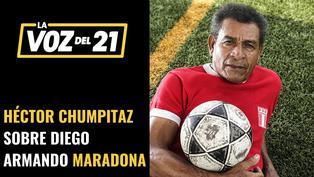 Chumpitaz recuerda a Maradona cuando lo visitó en la clínica