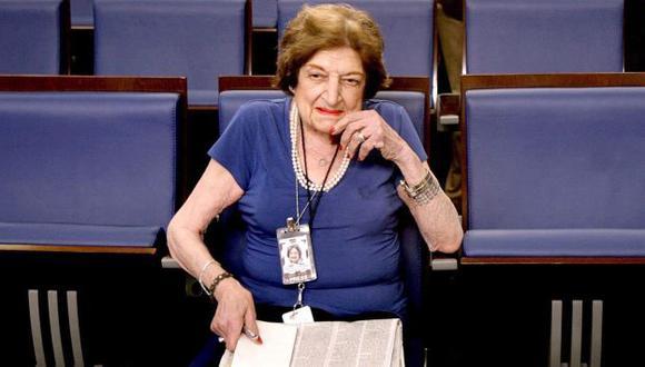 Helen Thomas incomodaba a presidentes con preguntas directas y ácidas. (EFE)