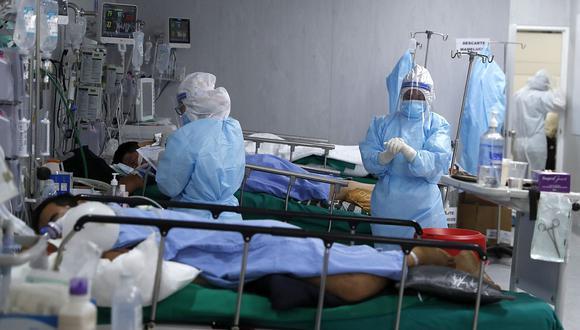 El personal de salud de las Fuerzas Armadas recibirá una bonificación extraordinaria por exposición al riesgo de contagio por COVID-19 durante marzo, abril y mayo. (Foto: Hugo Pérez / GEC)