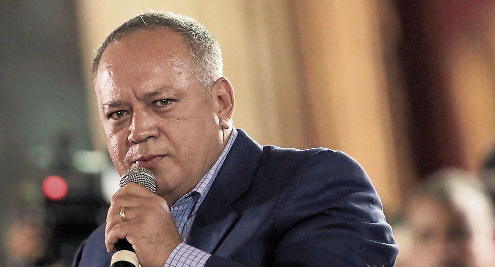 Diosdado Cabello es el segundo hombre más poderoso del país. (USI)