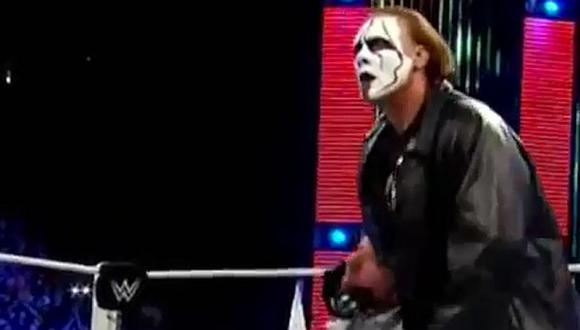 Sting aparecería en el programa de todos los lunes de la WWE, Raw. (Foto: Facebook Sting / Video: WWE).