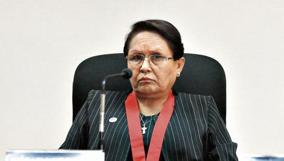 Inés Villa Bonilla, presidenta de la Corte Superior de Justicia Penal Especializada. (GEC)