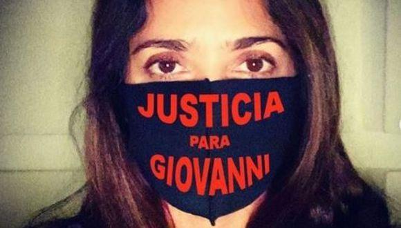 Salma Hayek pide justicia para Giovanni López, joven que murió tras ser arrestado por no usa mascarilla  (Foto: Instagram)