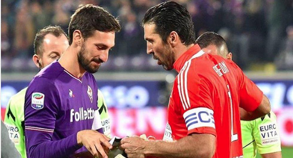 Davide Astori: Gianluigi Buffon queda consternado tras la muerte del capitán de la Fiorentina. (EFE)