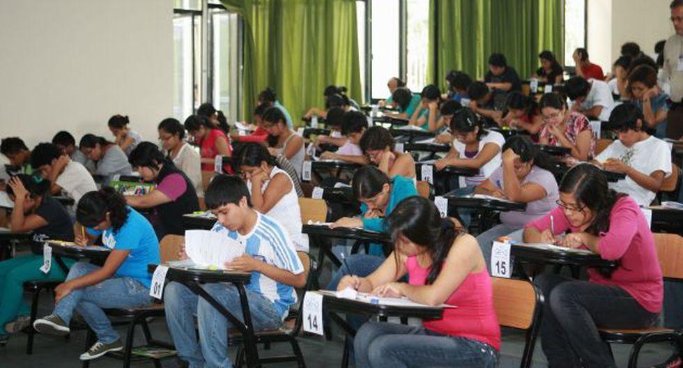 Postulantes afectados por huaicos podrán dar examen gratis en setiembre. (USI)
